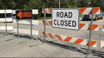 Road closures this weekend in Lexington and Sumter