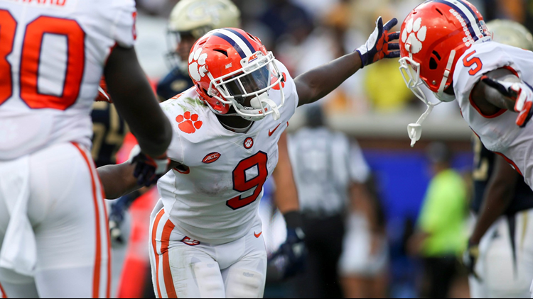 Clemson wrecks Georgia Tech, 49-21