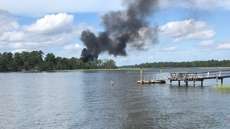 F-35B jet crashes in South Carolina