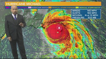 Potentially catastrophic Hurricane Michael closes in on Fla. Panhandle, will impact SC Thursday