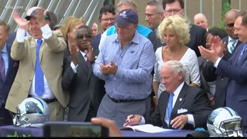 Rock Hill rolls out the red carpet for the Panthers and state lawmakers