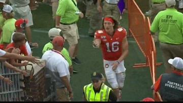 Trevor Lawrence talks about how the Tigers stay grounded