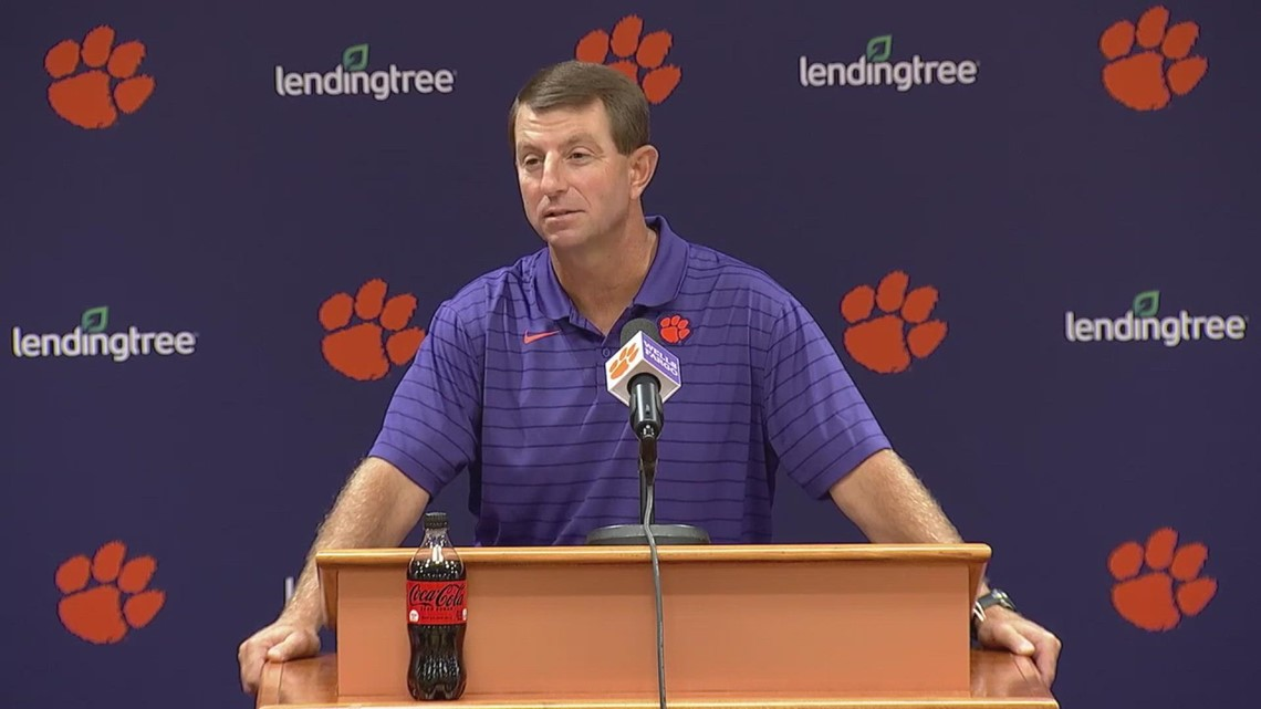 Dabo on how his team has responded to the Georgia loss
