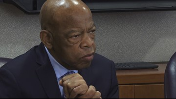 Congressman John Lewis meets with Benedict College students, faculty and alumni ahead of homecoming