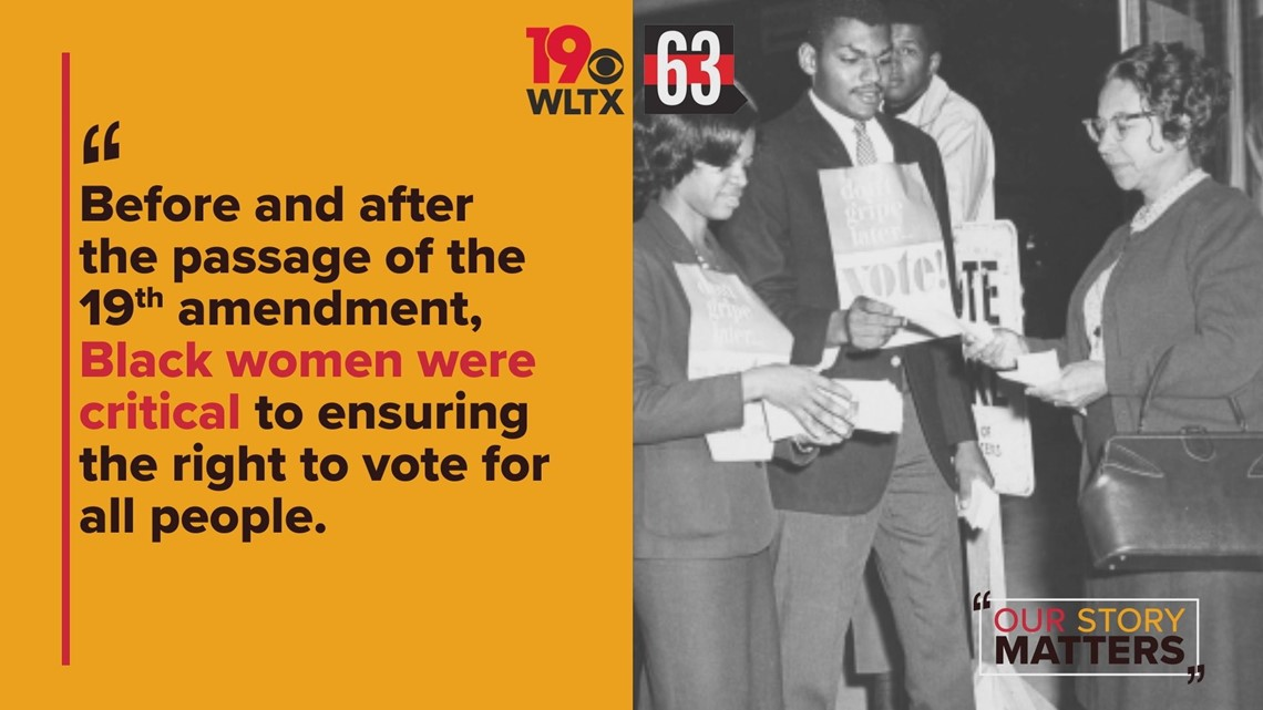 Our Story Matters: the 19th Amendment