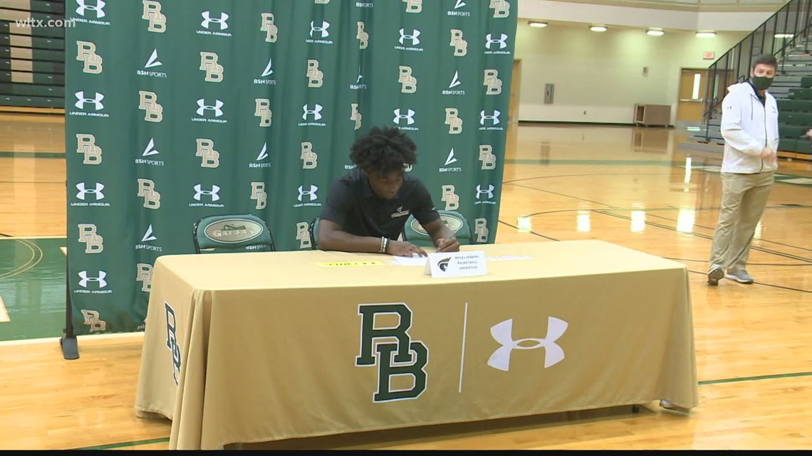 River Bluff's Myles Jenkins will play at Anderson University