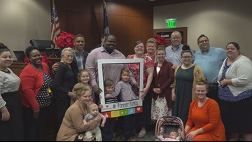 Forever families formed in South Carolina on statewide adoption day