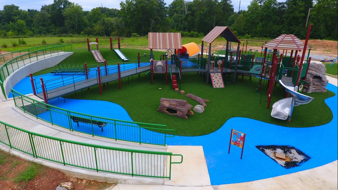 'Everyone is welcome here': Inclusive playground to open at Saluda Shoals Park