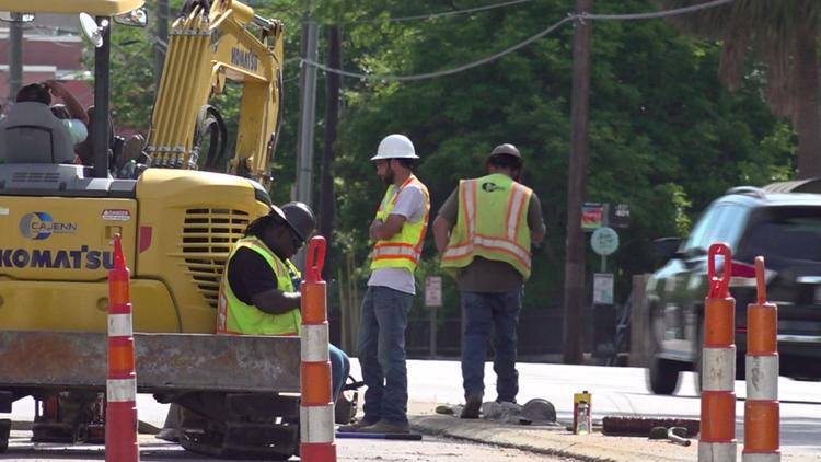 Look for increased roadwork due to Columbia's water system project