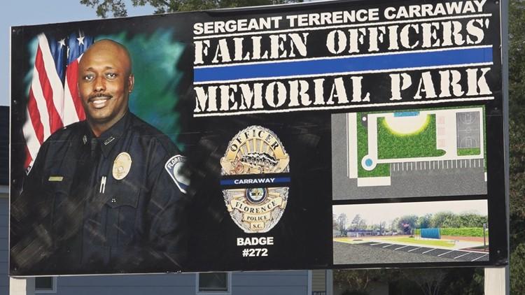 Sergeant Terrence Carraway Fallen Officers Memorial Park