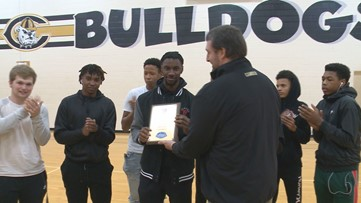 Trajon Pate is the News19 Player of the Week