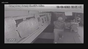 Would-be burglars bust through walls, take nothing, deputies say