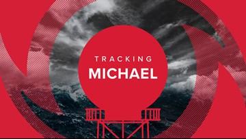 Hurricane Michael tracking: Spaghetti models, forecast cone and satellite