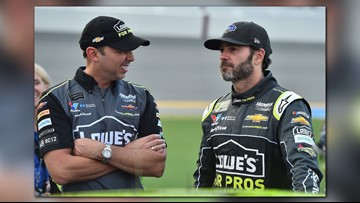 Jimmie Johnson and Chad Knaus are splitting up