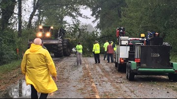 Photos: Michael leaves behind storm damage in South Carolina