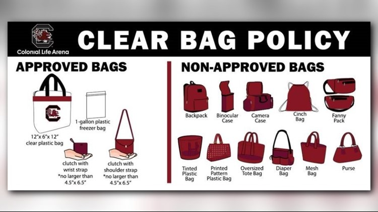 Colonial Life Arena's clear bag policy: What you need to know