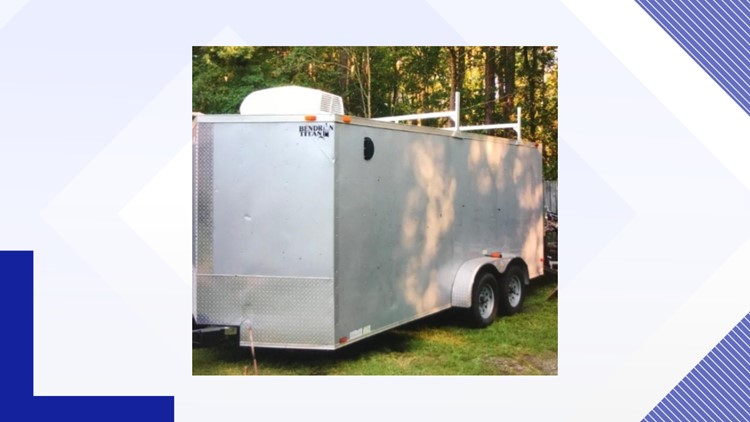 Trailer Ac Unit >> Trailer Stolen In Sumter County With Tv Ac Unit Inside