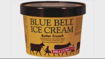 Blue Bell recalls butter crunch ice cream