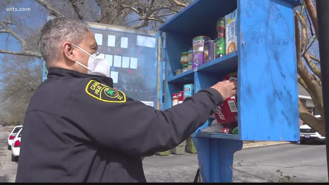 Camden man blesses others one box at a time