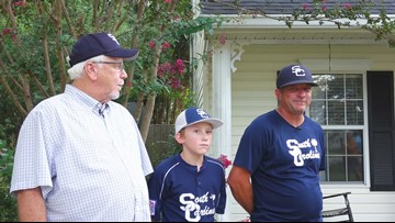 Grandfather, father, son played ball on the same stage: the Dixie Youth World Series