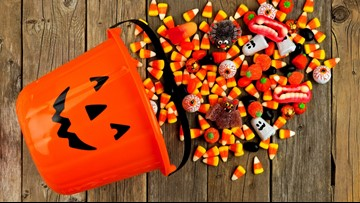 Need to get rid of leftover Halloween candy? Donate it to the troops