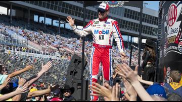 NASCAR drops the hammer on Harvick