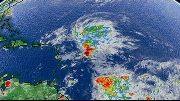 Hurricane season not over yet: system churning in the Atlantic