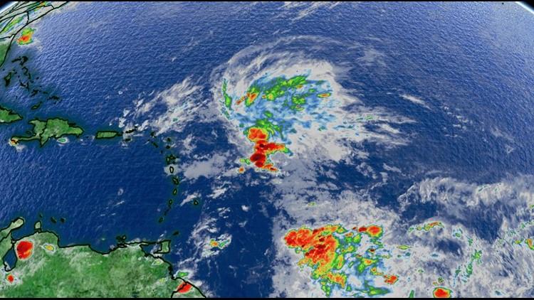 Hurricane season not over yet: system churning in the Atlantic