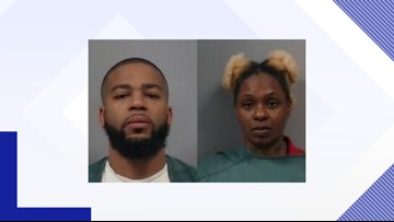Two suspects arrested, two fled into the woods after shooting incident