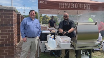 West Columbia food service provides thousands of meals for front line workers