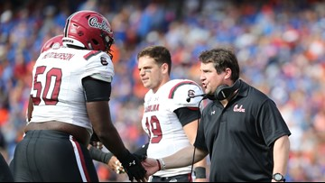 The Muschamp family hopes to go 2-0 Saturday