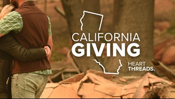 California Giving: how to help the victims of the California wildfire