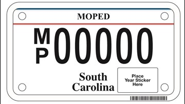 New South Carolina moped laws in effect