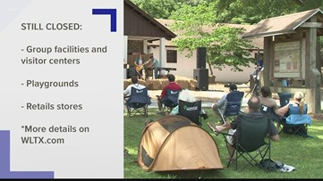 South Carolina state parks reopen Friday