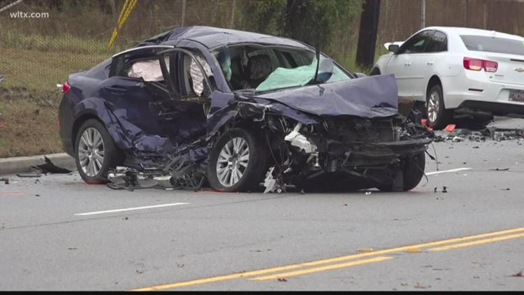 22 year old dies in four car crash on us 1 in lexington
