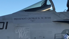 Navy to perform 21-aircraft missing man flyover to honor President Bush