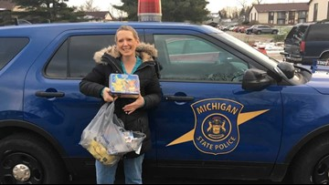Trooper saves Christmas, surprises local mom after presents are stolen