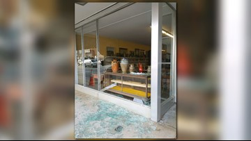 Deer Destroys 150-Year-Old Pottery Piece After Smashing Through Window of NC Antique Store