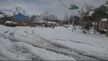 Greensboro neighborhood hit with tornado, hurricane, tropical storm and snow in same year