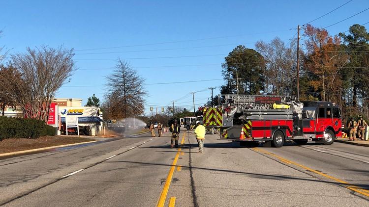Gas leak leads to traffic tie-ups on Highway 378 in Lexington