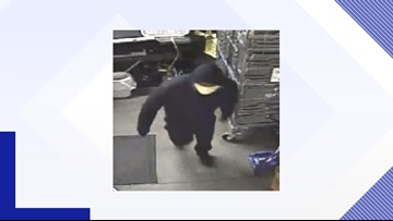 Man in white mask makes off with case of beer in dollar store burglary, deputies say