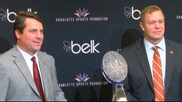 Will Muschamp Plans For USC To Take Advantage Of Belk Bowl's Location