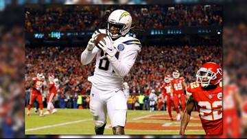 Mike Williams helps fuel a Chargers comeback in K.C.