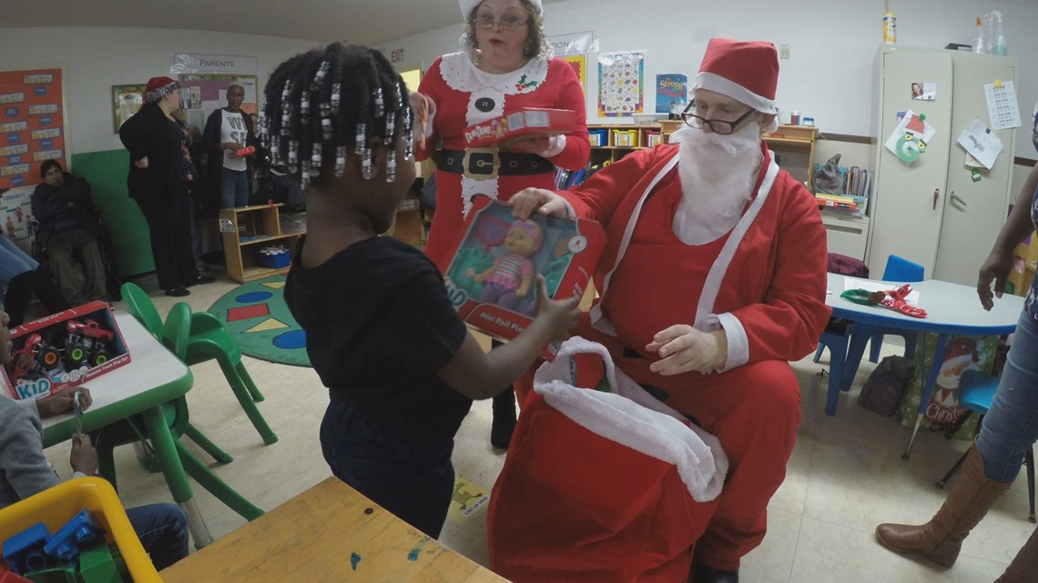 Adult with disabilities make a difference for kids around the Midlands for Christmas