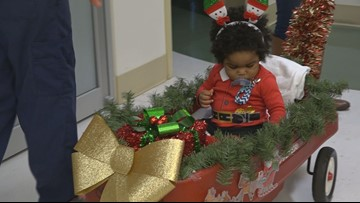 Bringing a piece of home: Palmetto Health Children's Hospital gives patients holiday surprise