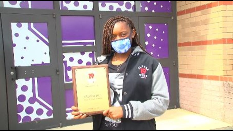 Kalisha Hill is a News19 Player of the Week