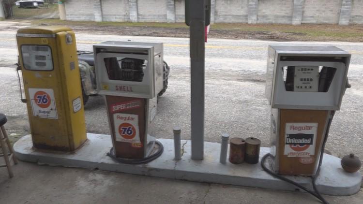 LeNoir Store gas pumps