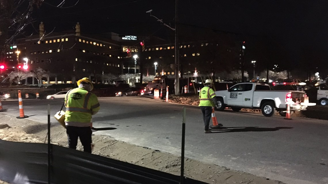Highway 378 in front of Lexington Medical Center reopens after gas leak