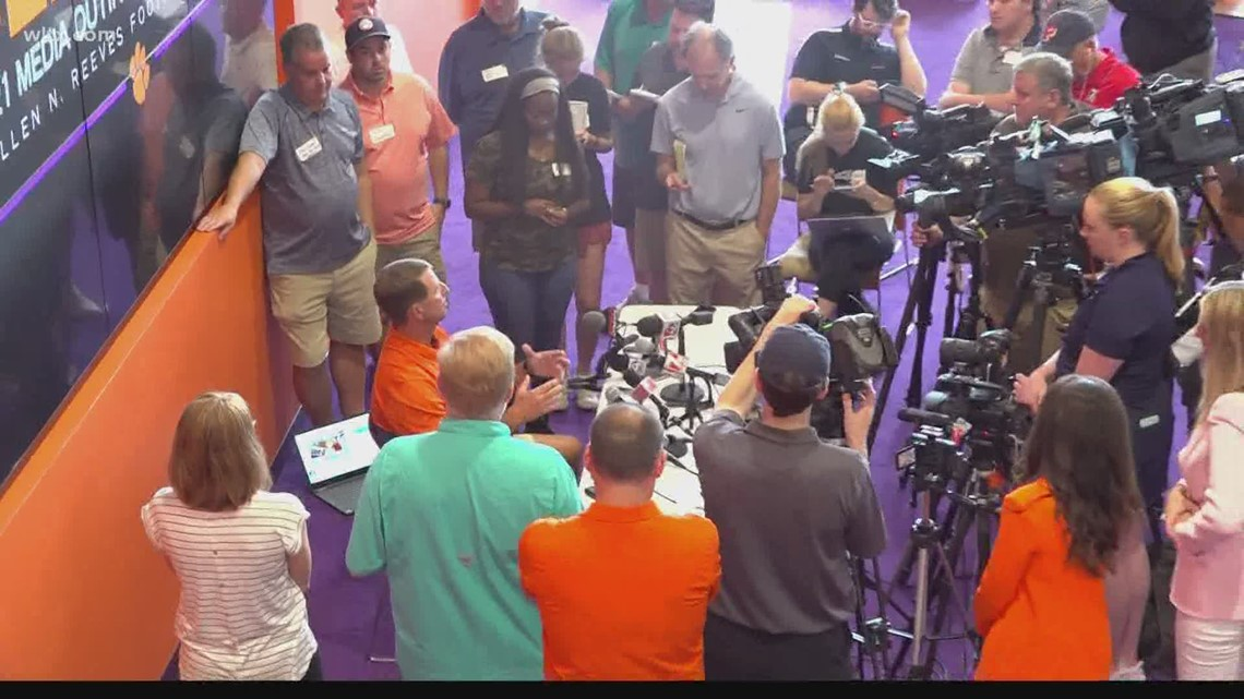 Dabo talks NIL rule and past comments