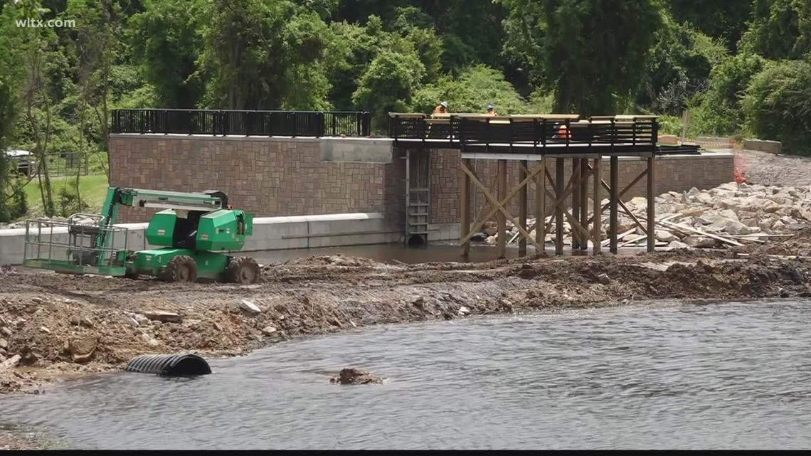 Gibson Pond Park expected to reopen with new fishing pier in June